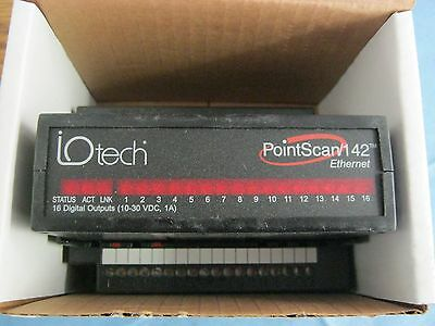 Iotech Pointscan142. 16 Digital Output Module Ethernet Rs485. New Old Stock