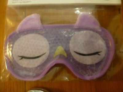 Owl Travel Eye Mask BNIP Sleep Novelty Sleepover - Owl Mask