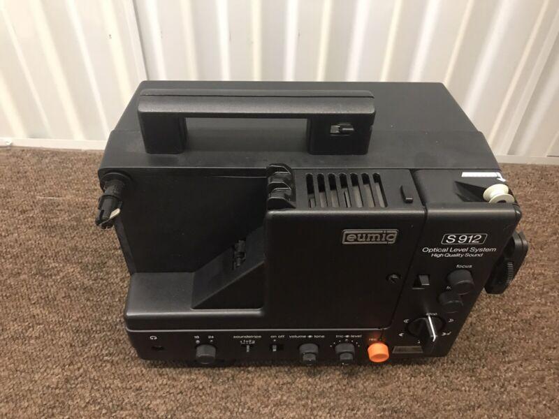 Eumig S912 HQS Super8 Sound/Record Film Projector