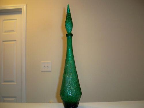 Empoli  Verde Decanter Genie Bottle