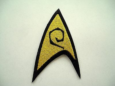 Star Trek TOS Engineering Emblem Embroidered Patch,Enterprise,badge,Federation