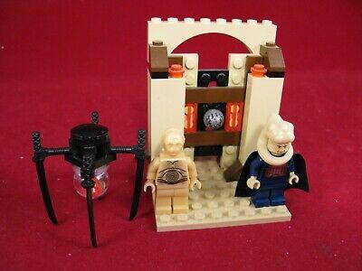 Lego 2003 Star Wars Jabba's Message Bib Fortuna C3PO + B'omarr monk 4475 no inst