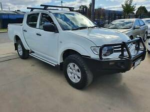 2014 Mitsubishi Triton GLX Duel Cab Ute TURBO DIESEL 4X4 MANUAL Williamstown North Hobsons Bay Area Preview