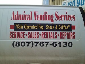 Vending Machine Sales  Supplies & Service