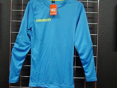bb43c83ae8d Reusch Soccer Goalie Padded Long Sleeve Jersey MATCH Youth Medium SLIM FIT  Blue