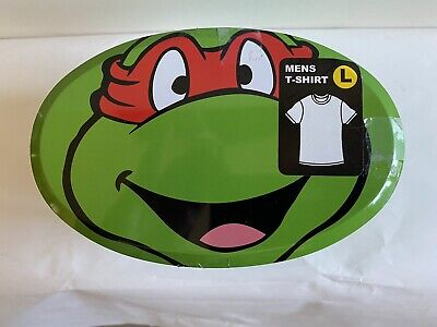 Teenage Mutant Ninja Turtle Mens T-Shirt, Decorative Tin, - Teenage Mutant Ninja Turtle Mädchen