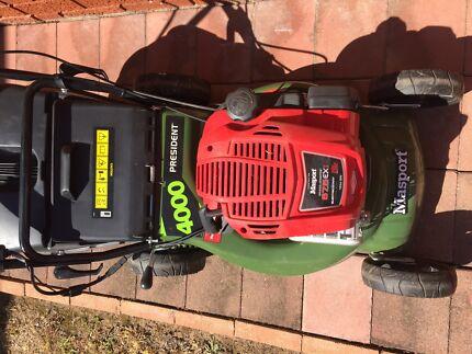 Masport President 4000ST S/P Combo Lawn Mower (Key Start)