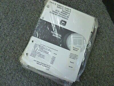 John Deere 648g-ii 748g-ii Skidder Shop Service Repair Manual Tm1694 New
