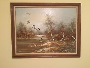 Oil Painting by Havell