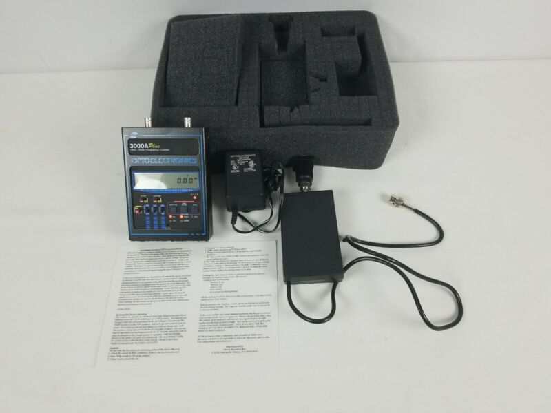 OPTOELECTRONICS 10Hz-3GHz 3000A Plus Frequency Counter EXCELLENT USA Made