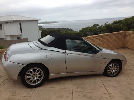 2001 Alfa Romeo Spider Convertible Mardi Wyong Area Preview