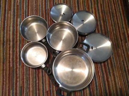 7 piece pot set