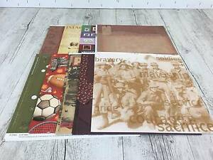 Scrapbooking paper 12x12 assorted designs-81 12x12 sheets Birkdale Redland Area Preview