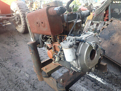 Lister Petter Lpw3 Diesel Engine Runs Exc Lpw Lpw3a001