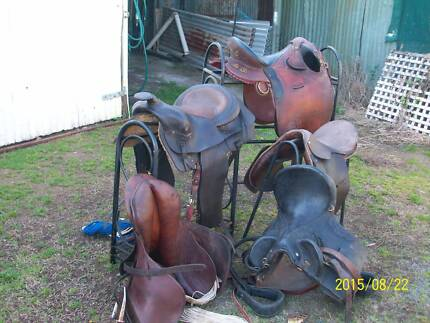 5 saddles of differant types Dyers Crossing Greater Taree Area Preview