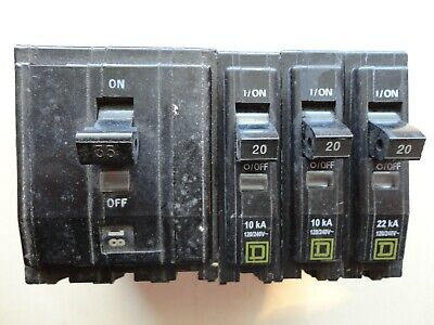 Square D Bolted Circuit Breakers Qob120 And Qob335 Divisible