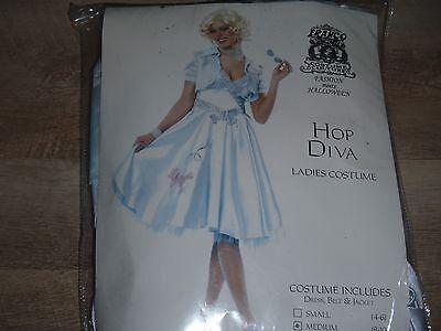 Hip Hop 50s Shop Womens Poodle Skirt Outfit Halloween - Size 8-10 - Hip Hop 50s Shop