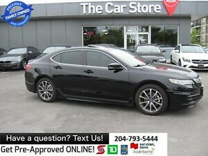 2015 Acura TLX Tech NAVI HTD LEATHER sunroof TOUCH SCREEn cam