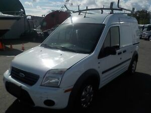 2010 Ford Transit Connect XLT with Rear Door Glass Cargo Van