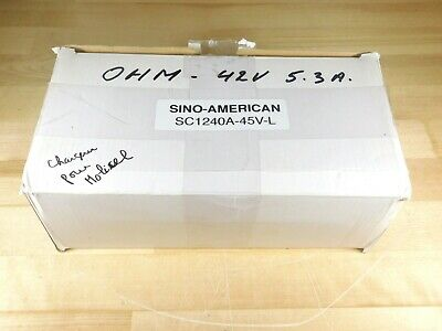 Sino-american Model Sc1240a-45v-l Ebike Battery Charger 42v 5.3a