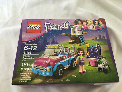 LEGO Friends Olivia's Exploration Car 41116 New with Damaged Box
