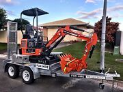 MINI EXCAVATOR HIRE (dry hire or with operator) Miami Gold Coast South Preview