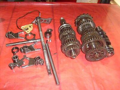 transmission gears  XS500 Yamaha TX500 serial number 1J3 100986 Lot 104
