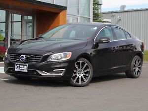 2015 Volvo S60 T6 Premier Plus AWD | HEATED LEATHER | SUNROOF