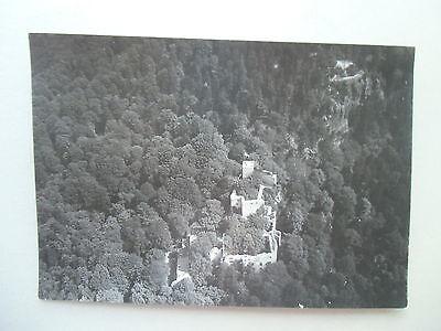 Original-Fotografie Zeppelin Luftaufnahme um 1910 Altes Badener Schloß BAD-BAD