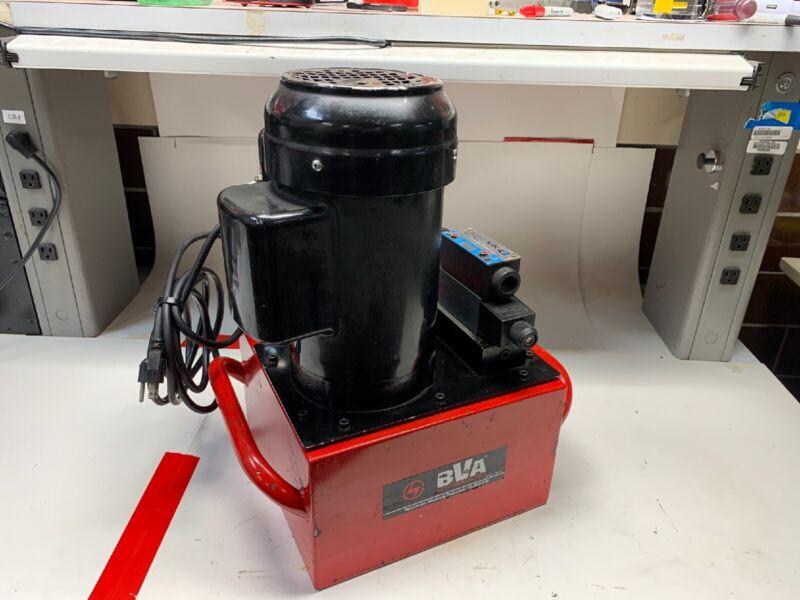 BVA Hydraulics PE50S3N03A 10,000 PSI Hydraulic Pump 1-1/2hp 120V 3-Gallon