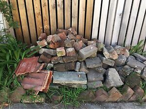 Mixed building material- half old red brick Belmont Lake Macquarie Area Preview