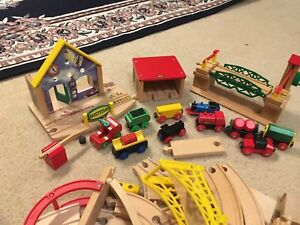 Thomas wooden train collection sets and more