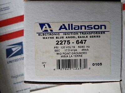 Allanson 2275-647 Ignition Transformer