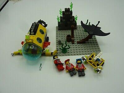 Vintage Lego Set 6442 Town Divers Stingray Explorers Near Complete System Sub