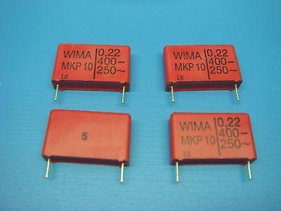 4 Wima Mkp10 0.2240010 Mkp10 0.22uf 400v 10 Polypropylene Capacitor