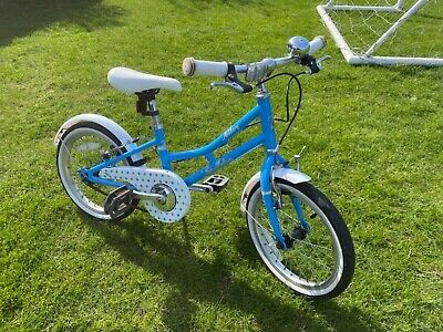 "Pendleton Ashbury 16"" Girls Kids Hybrid Bike 9"" Classic Loop Frame Age 5-7 VGC"