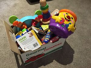 Box with toys Como South Perth Area Preview