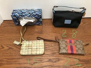 Genuine Coach lot purse coin purse wristlet