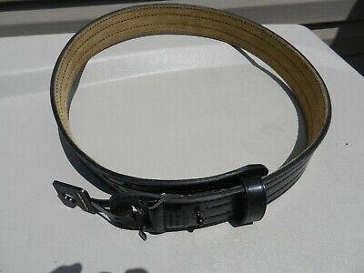 Unused Safariland 87 Black Leather Duty Belt Size 44 No Buckle 2 14 Wide