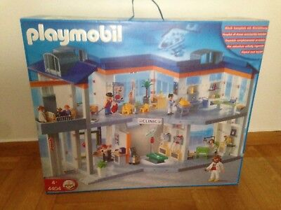 Playmobil 4404 Hospital / Clinic Hard to Find New & Sealed