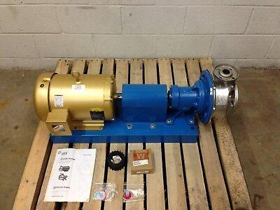 Goulds Itt Gl Series Stainless Steel Horizontal Centrifugal Pump 10hp Motor