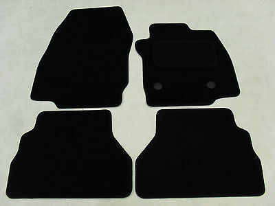 Ford B-Max 2012-2015. Fully Tailored Deluxe Car Mats in Black