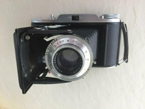 Voigtlander Bessa I 1 Vaskar 1:4.5 105mm Prontor-S Camera Lens- Very nice!