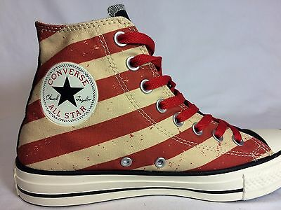 Converse Chuck Taylor All Star Vintage American Flag Black/Fire High Top 144677F Chuck Taylor Flame