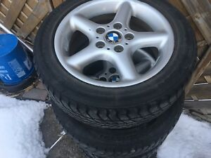 BMW mags with tire 16""