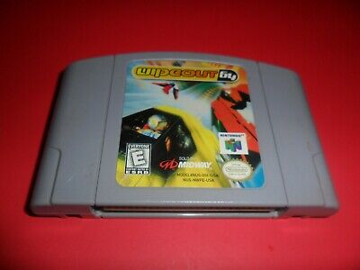 Wipeout 64 - Nintendo 64 N64 Game Cartridge Working & Authentic
