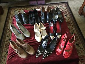 Designer shoe collection