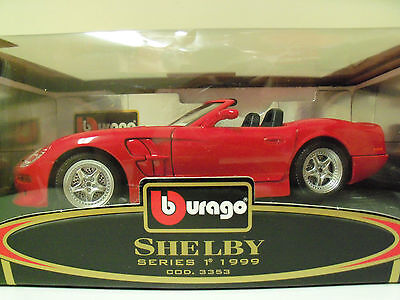 BBURAGO GOLD COLLECTION 1999 SHELBY SERIES 1 DIECAST MODEL