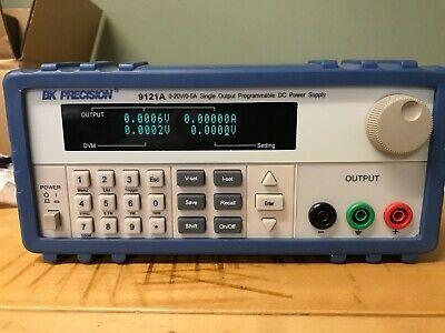 Bk Precision 9121a 20v 5a Dc Power Supply Programmable