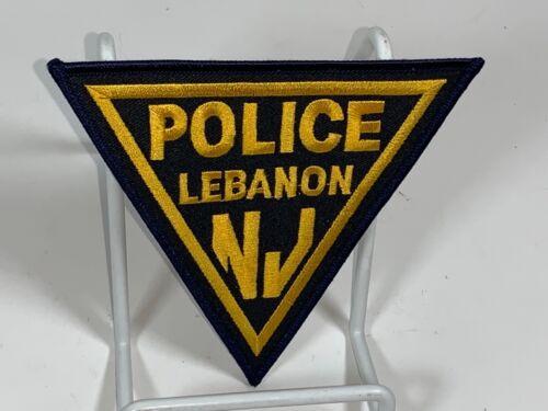 Lebanon NJ Police Patch unused